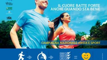 Ansia e Sport – Al via la campagna nazionale